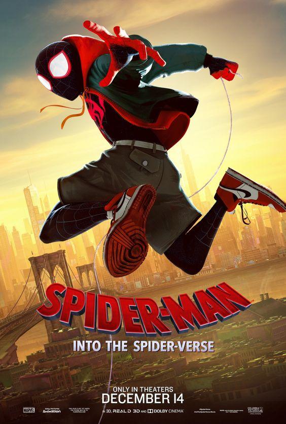 مشاهدة الفيلم الانيميشن و الاكشن و المغامرة و الكوميديا و العائلي و الخيال العلمي Spider Man Into The Spider Verse 20 Marvel Animation Spider Verse Spiderman