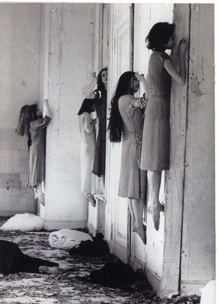 Pina Bausch choreography - American Horror Story Season 3 inspired by this scene: