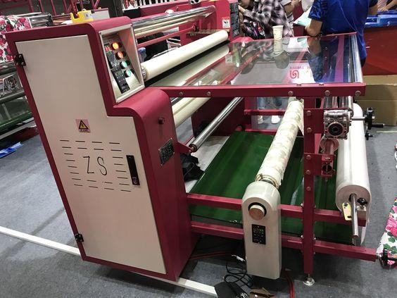 máquina de la prensa del calor del rodillo 200 * 1200 mm