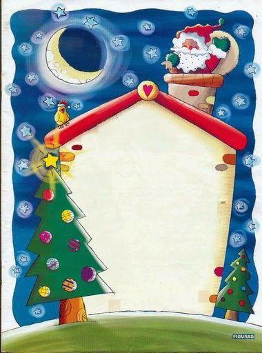 Bellos Marcos para Fotos o Tarjetas para Navidad, para Imprimir Gratis.