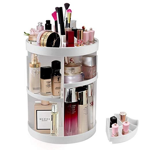 Etmury Cosmetic Organizer 360 Rotating Makeup Storage Holder