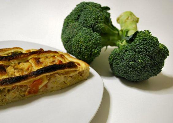 Crostata di verdure autunnali
