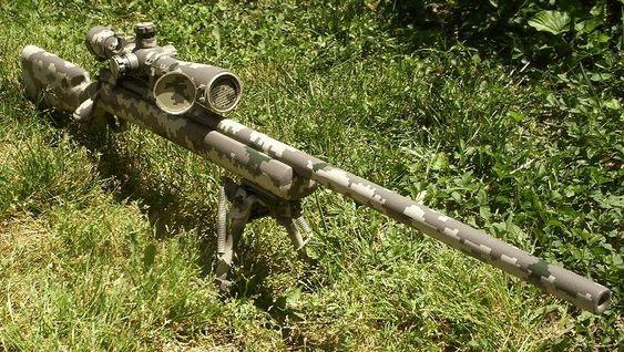 remington sniper rifles | Remington 700 PSS MirageFlage