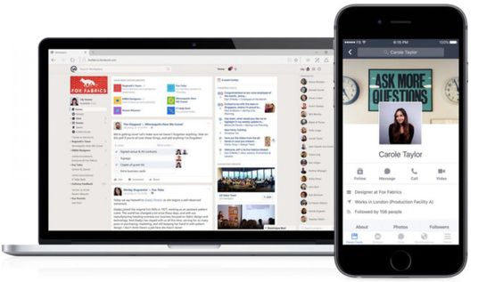 Facebook lanza Workplace, su red social para las empresas