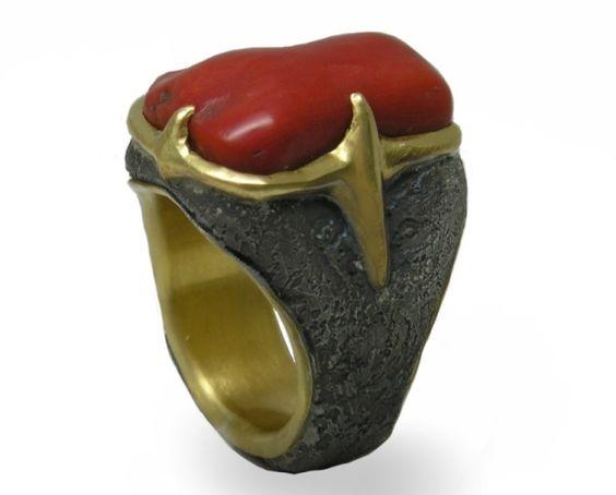 Coral Crusader Ring - Michael Jensen Designs - Product Search - JCK Marketplace
