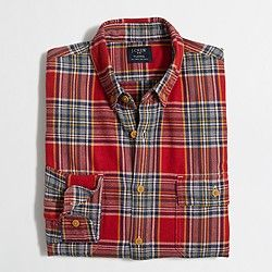 Factory lightweight flannel shirt