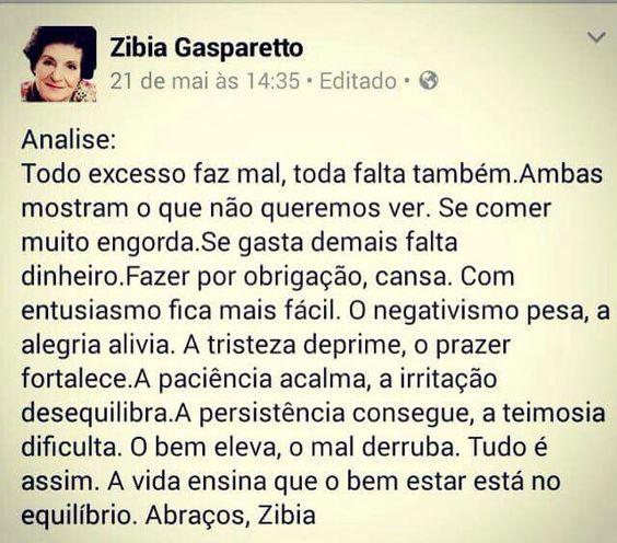 Zibia Gasparetto!