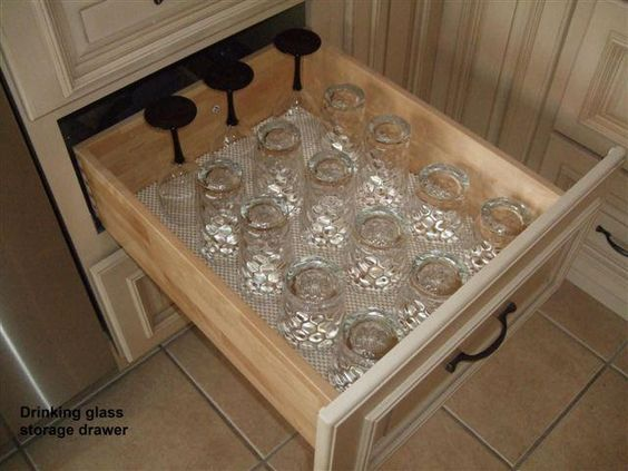 2011 finalist on CG! Deep drawers to store your glasses using ...