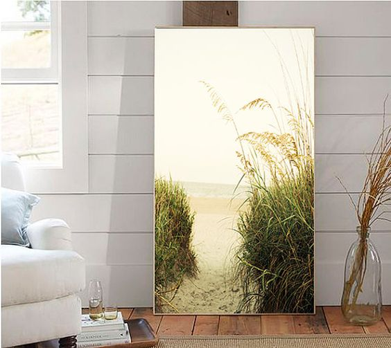Art Photography Home Decor Beach Landscape by cottagelightstudio
