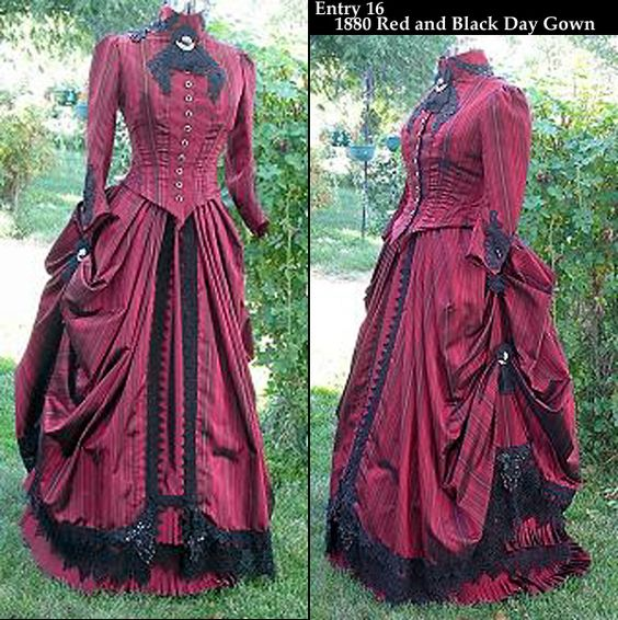 Victorian Afternoon Gown Reminds me of that episode of doctor who it looks like the one Clara had