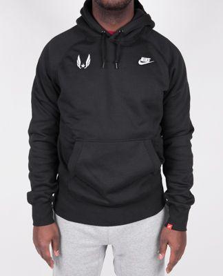 Product image: Nike USATF Men's AW77 Fleece Hoodie
