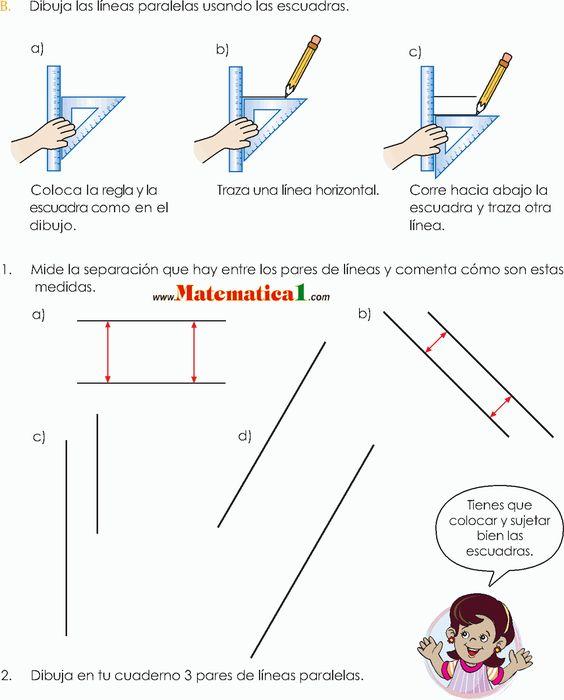 Estudio De Los Angulos Y Las Lineas Escuadra Y Transportador En Tercero De Primaria P Actividades De Geometria Actividades De Matematicas Tercero De Primaria
