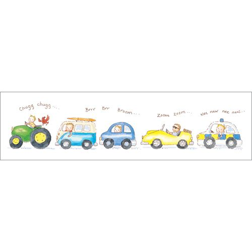Vehicles - Boy's birthday cards from Phoenix Trading  £1.75 per card or £1.40 when buying 10 or more  children children's birthday cards