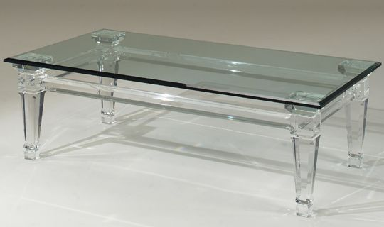 Acrylic Cocktail Table...!  www.PacificHeightsPlace.com