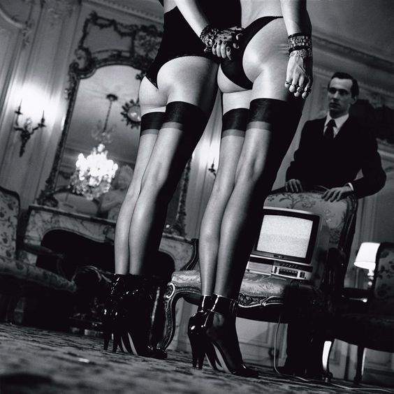Black stockings, Helmut newton and Stockings on Pinterest