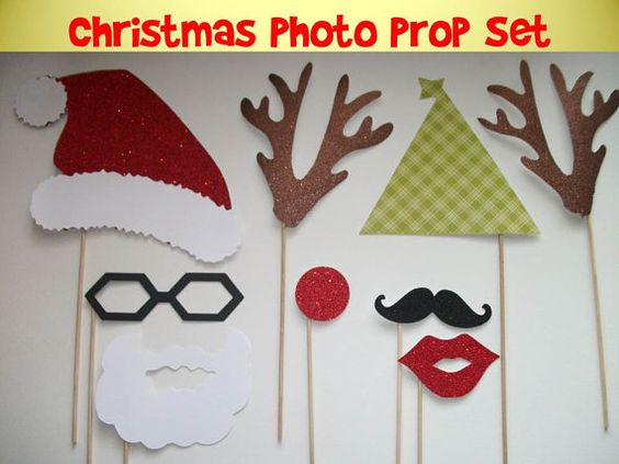 Have a fun Christmas-themed photobooth for everyone packing shoeboxes!  What a great way to commemorate filling boxes with goodies!
