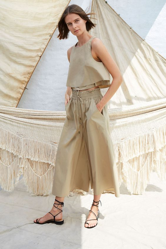 Colección de prendas listas para usar de Apiece Apart Spring 2019 - Vogue