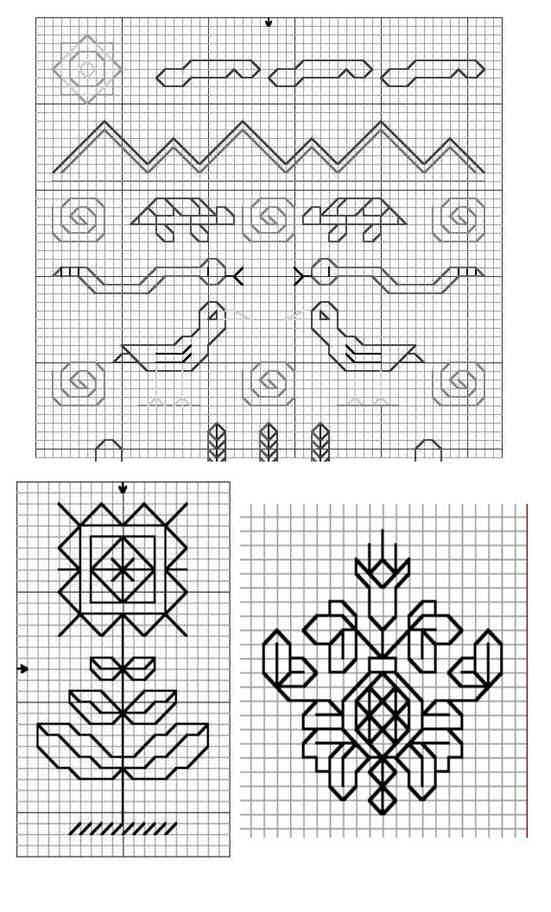blackwork embroidered clothing | blackwork 101 blackwork for beginners