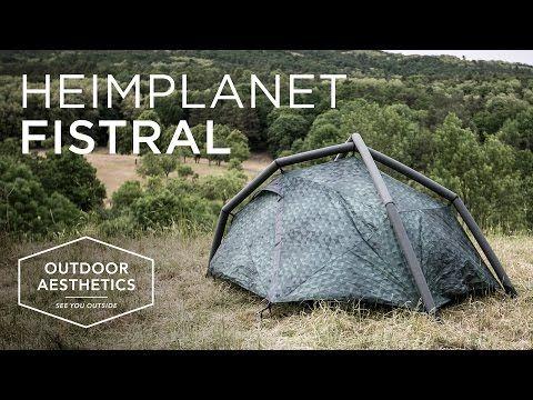 Test & Rezension: Zelt FISTRAL von Heimplanet / Cairo Camo Design - YouTube