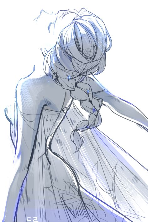"""I'd like to realize the signifigance of this. For years Elsa was stuck in her room. But in this scene she was finally FREE of her room and title, finally standing in the light of day.-""""Here I stand, In the light of day..."""""""