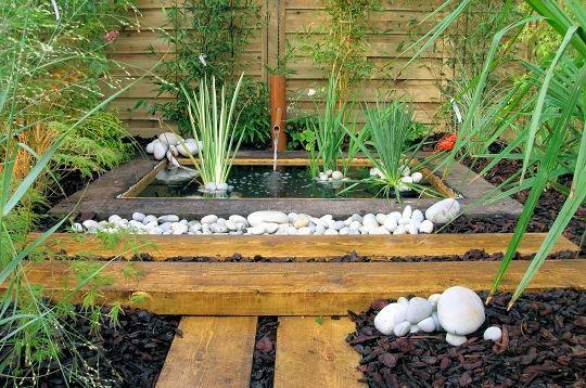 Petit bassin bois jardin Annonces immobilières  Yakaz
