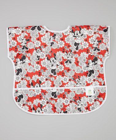 Another great find on #zulily! Disney Baby Minnie Mouse Junior Bib #zulilyfinds