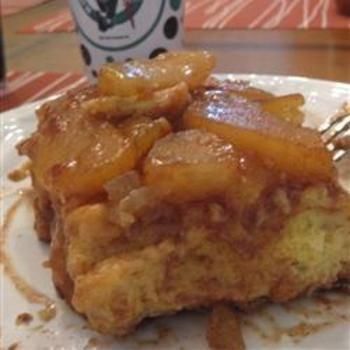 Overnight Apple Cinnamon French Toast