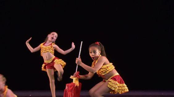 """Maddie Ziegler Dance Moms S1E5 """"When Stars Collide"""""""