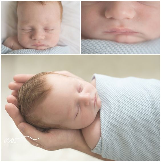 natural newborn photography session