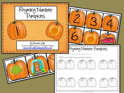 Pumpkin Number Rhymes