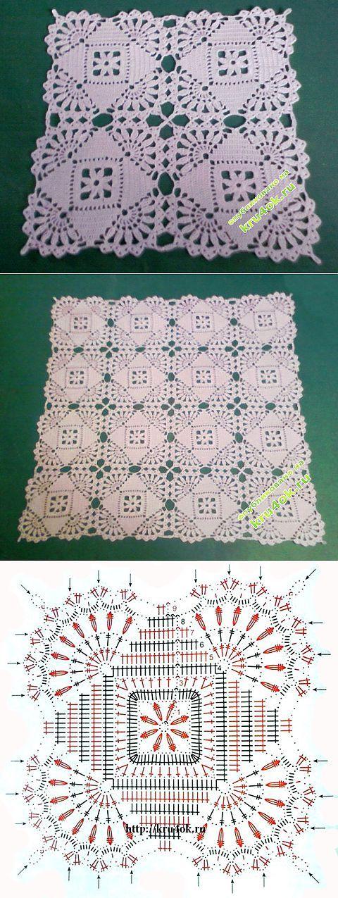 Crochet centrino - funziona Lenuss - Crochet a kru4ok.ru