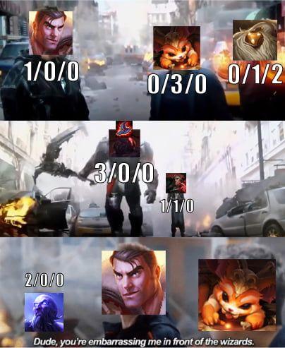 When Gnar Feeds The Ap Sion In Top Lane League Of Legends Memes Lol League Of Legends League Memes