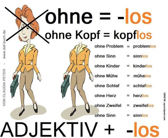 -los! Deutsch Problemchen: