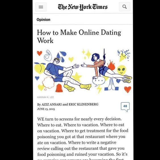 How To Make Online Dating Work Ny Times