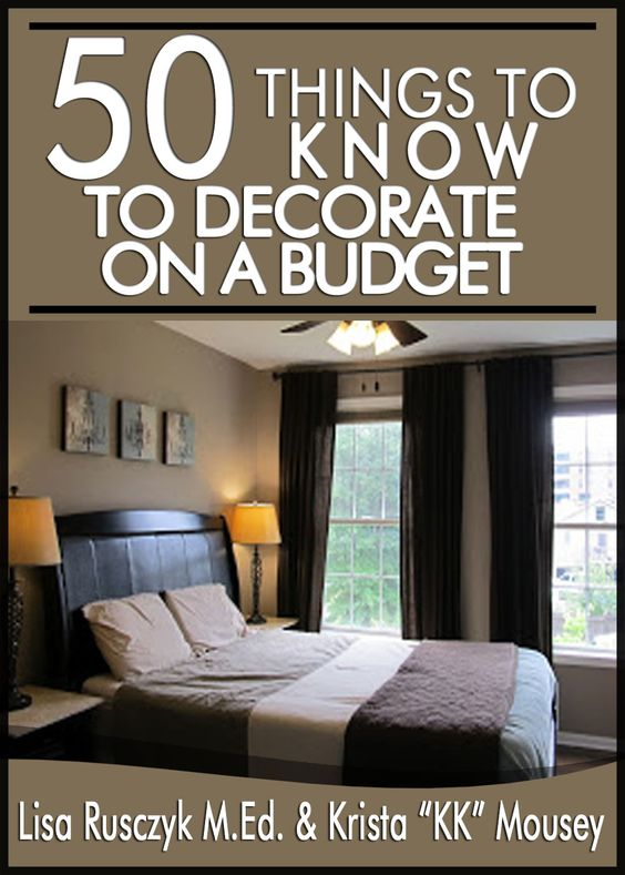 Budget things to and home on pinterest - Stuff to decorate your room ...