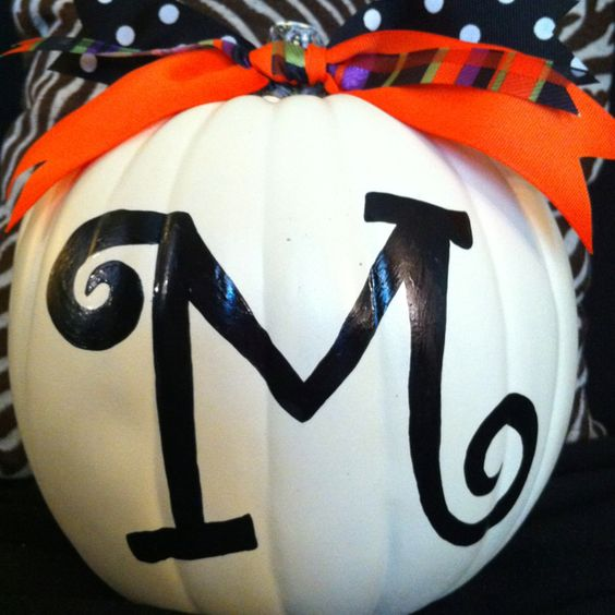 i love all the cute, decorated pumpkins. how will i ever narrow it down??