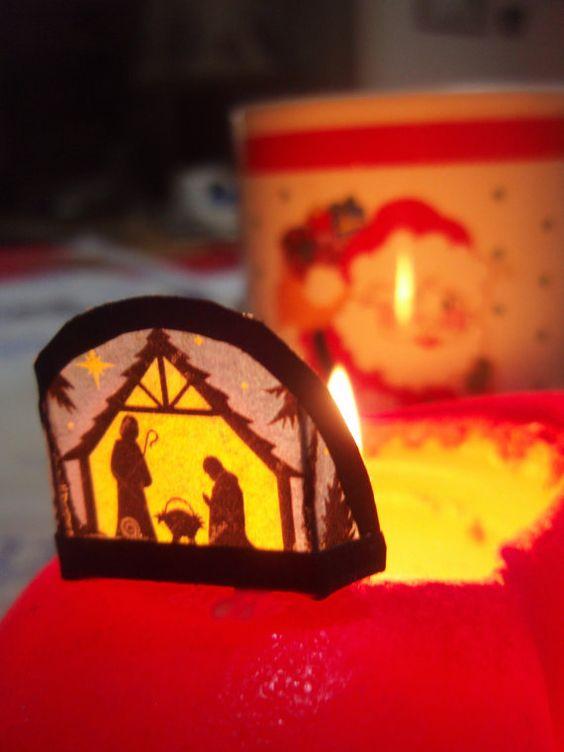 1: 12 Puppenstube traditioneller Adventsschmuck von minis4you