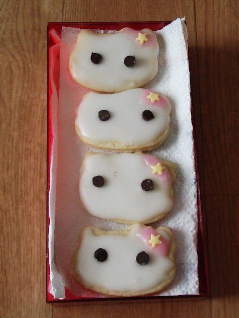 AngelSan Creation Hello Kitty cookies
