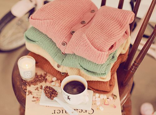 Sweaters and lattes <3
