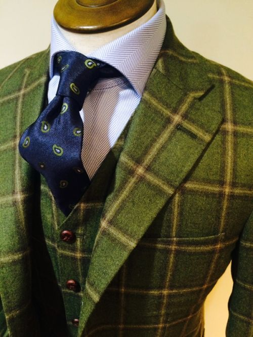 Holland&Sherry 2015FW ASCOT Wool100%: