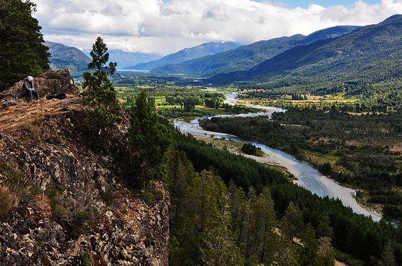 Valle del Río Azul, Provincia de Río Negro - ARGENTINA