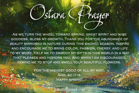 Spring is finally here  May Ostara bless you with renewed courage, love, and hope <3