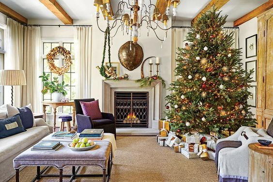This Southern Designer 39 S House Is A Winter Wonderland