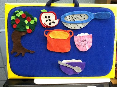 In the Children's Room: Flannel Friday: Applesauce, Applesauce