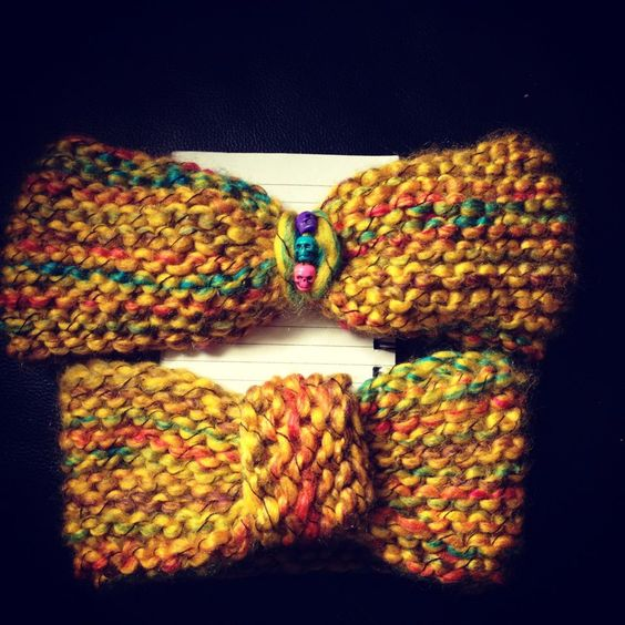Easy Knitting Headband Pattern : Knitted headband pattern, Knitted headband and Headband pattern on Pinterest