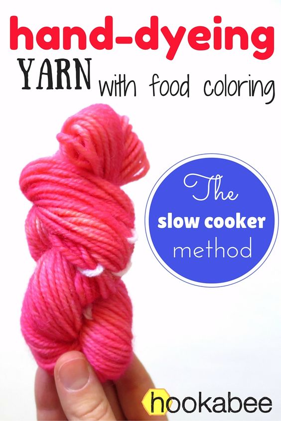 This is the second post in a series I am doing on how to hand-dye yarn using food colouring. Previously, I harnessed the heat of the sun to dye a small skein of yarn bright yellow, and this time I ...