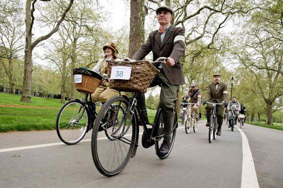 The London Tweed Run 2012