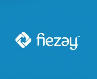 Fiezay ambigram logo.