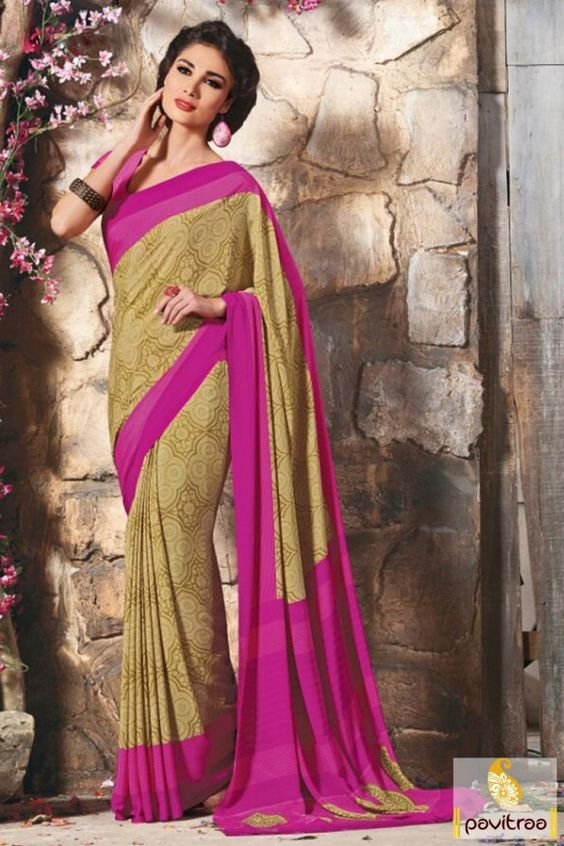 Get refreshment elegant style with cream color bhaglpuri silk casual saree online shopping India. Order this women fashion apparel with discount deal in Surat. #saree, #casualsaree more: http://www.pavitraa.in/store/bhagalpuri-silk-sarees/