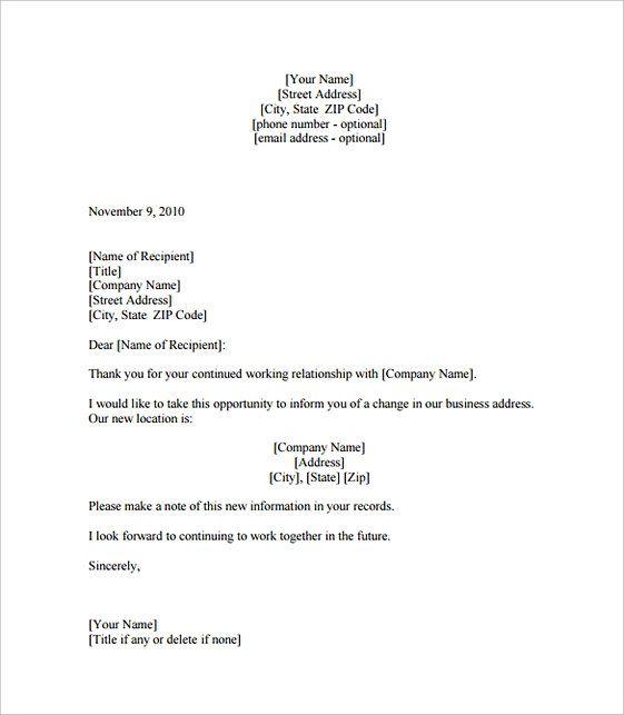 Business Letter Format Business Letter Format Business Letter